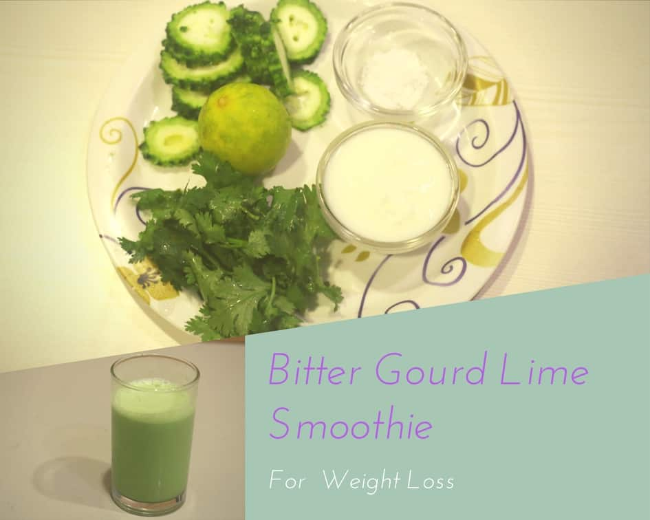 Bitter Gourd Lime Smoothie