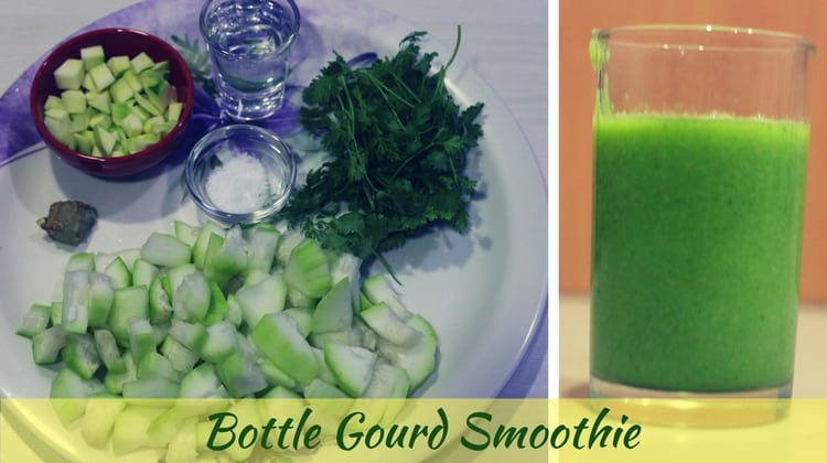 Bottle Gourd Smoothie