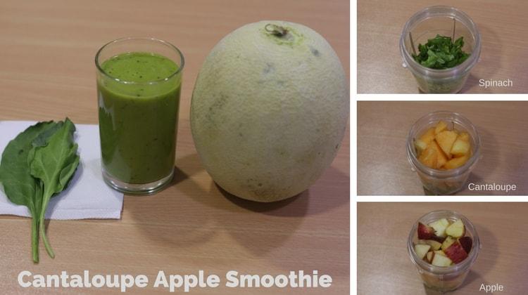 Cantaloupe Apple smoothie