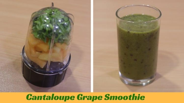 Cantaloupe Grape Smoothie