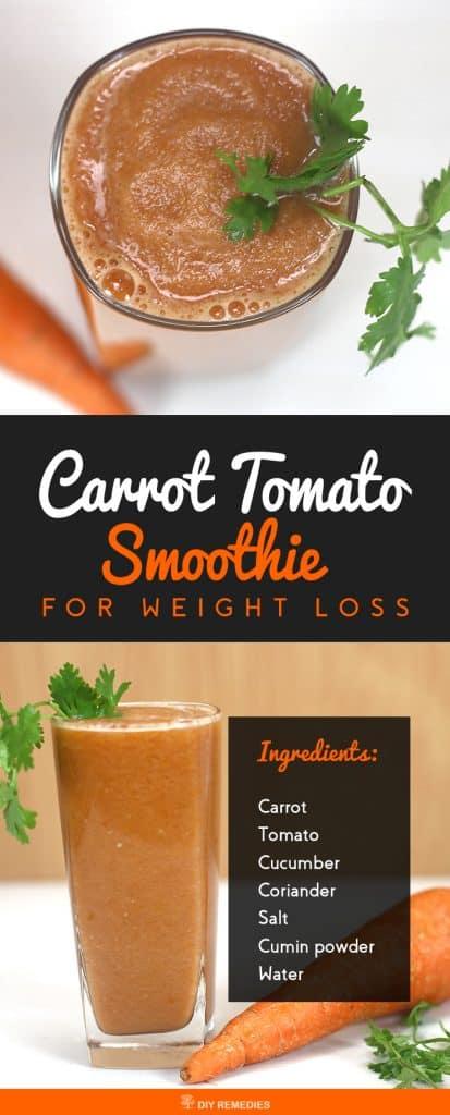 Carrot Tomato Smoothie