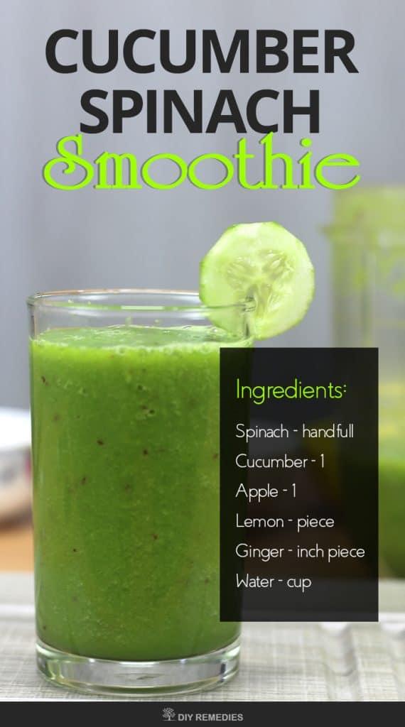 Cucumber Spinach Smoothie