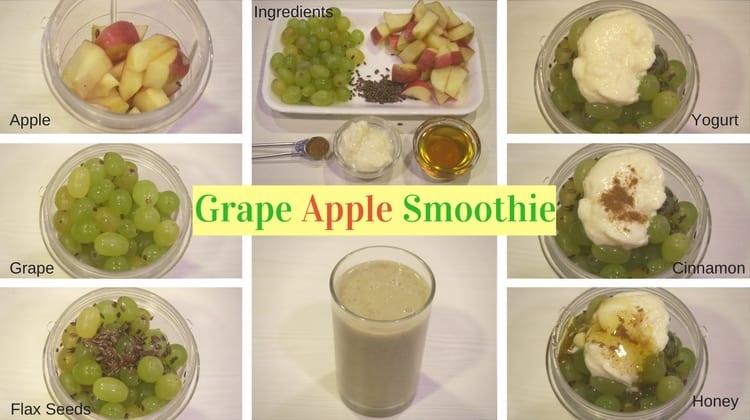 Grape Apple Smoothie