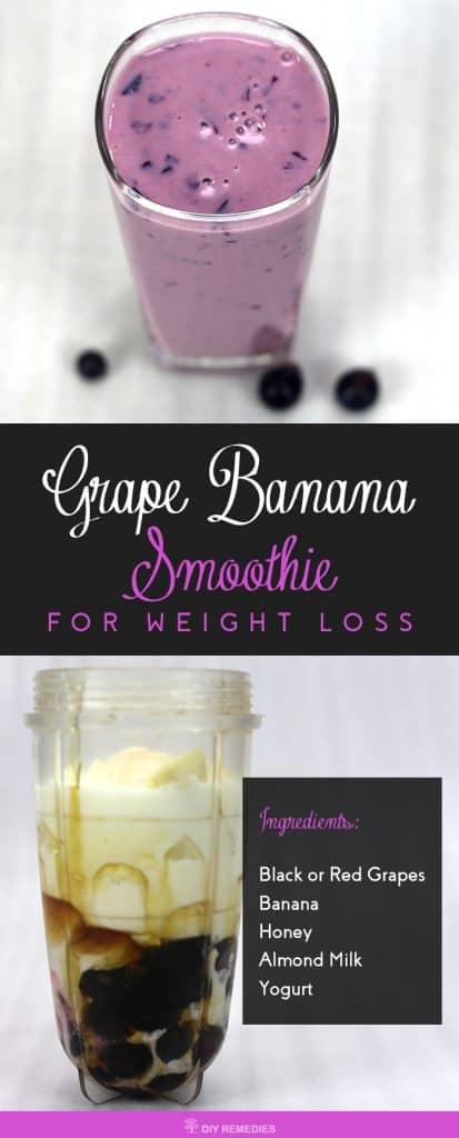 Grape Banana Smoothie