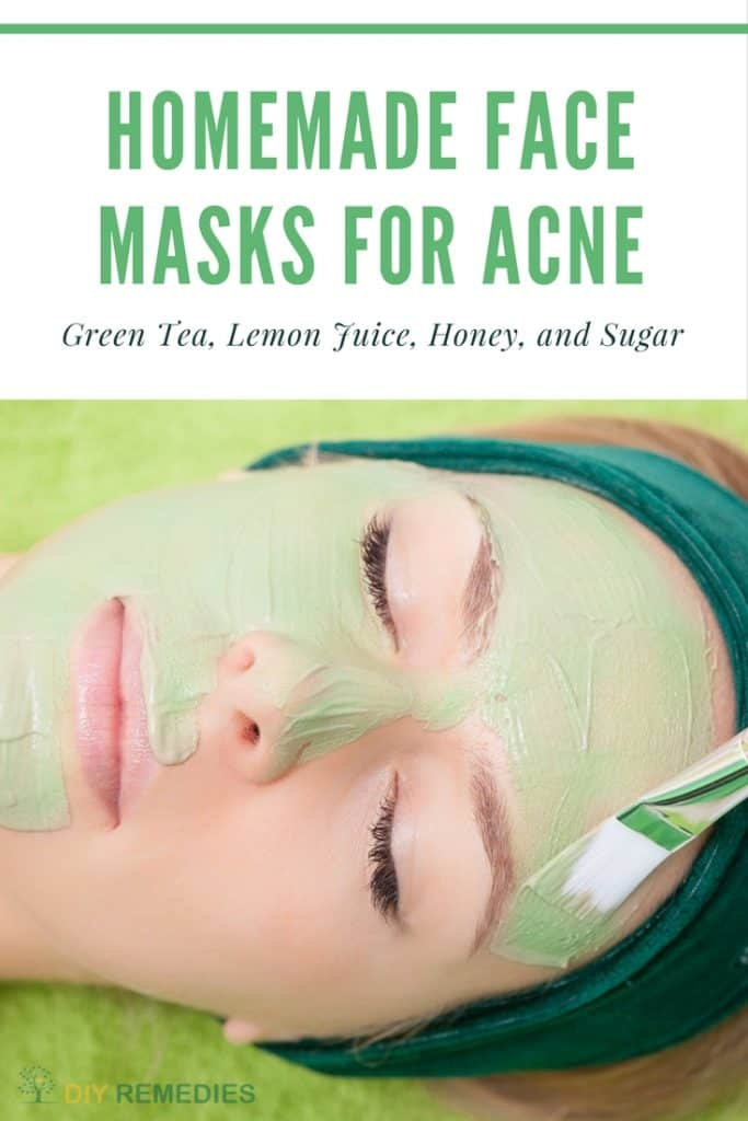Green Tea Face Masks for Acne