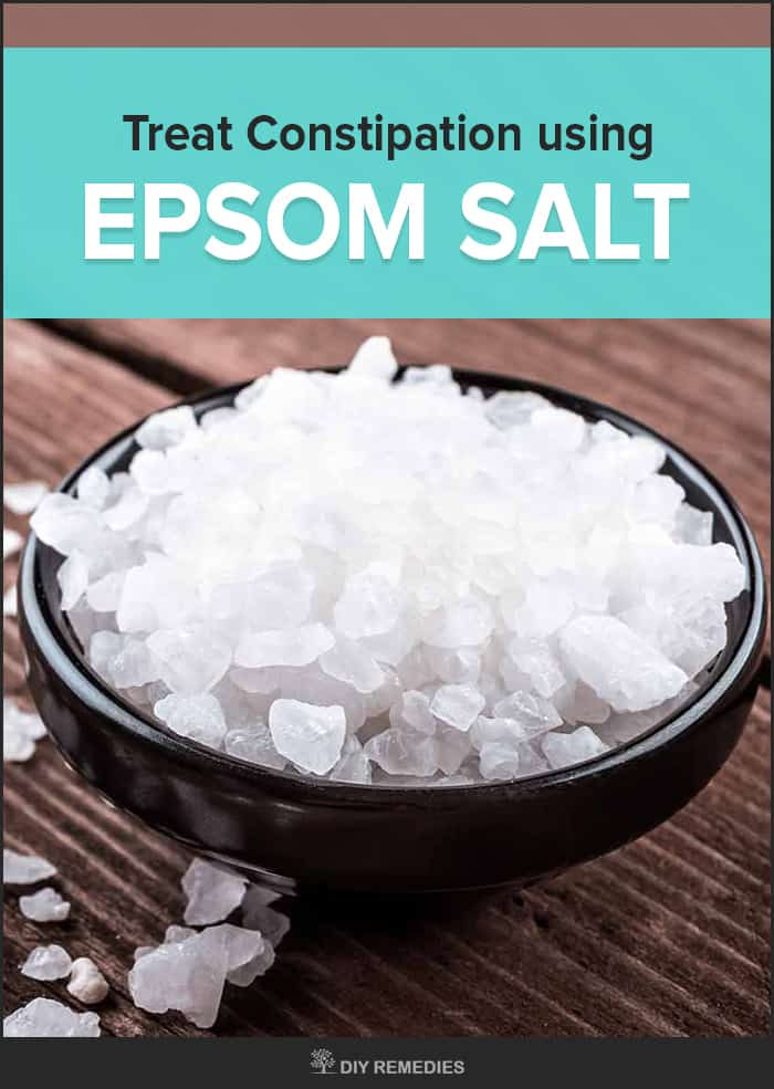 How to Treat Constipation using Epsom Salt