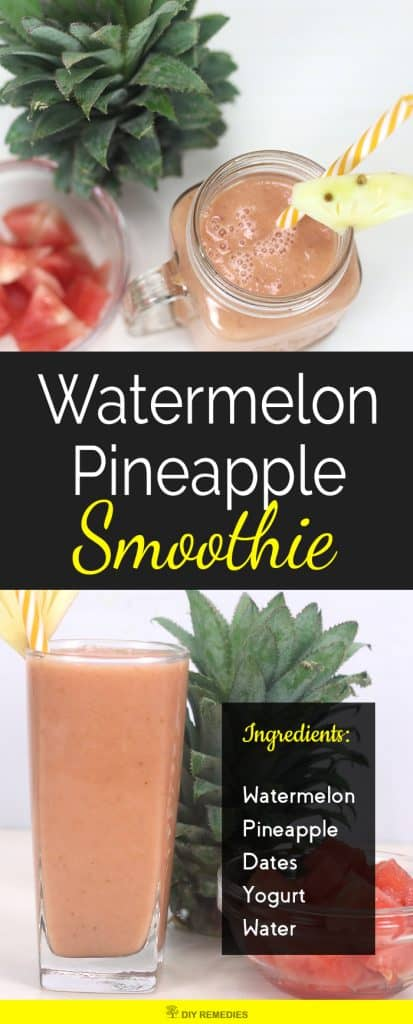 Watermelon Pineapple Smoothie
