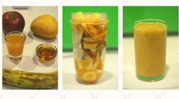 Mango Apple Smoothie