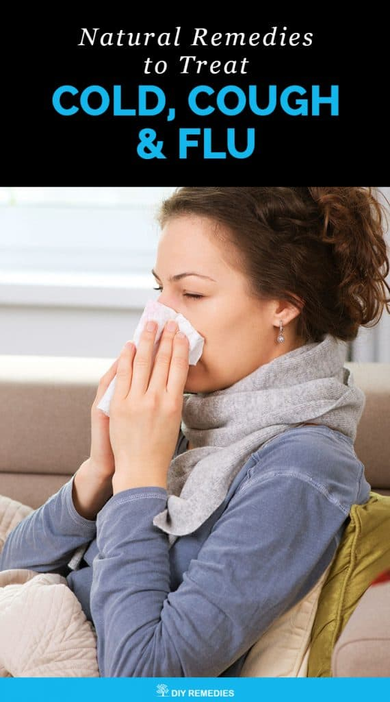 Natural Remedies to Treat Cold, Cough and Flu