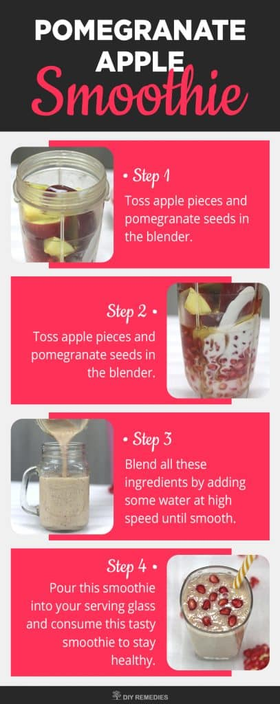 Pomegranate Apple Smoothie