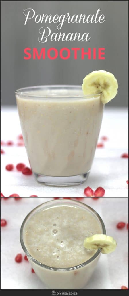 Pomegranate Banana Smoothie
