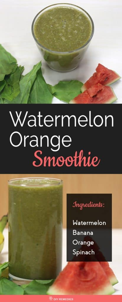 Watermelon Orange Smoothie