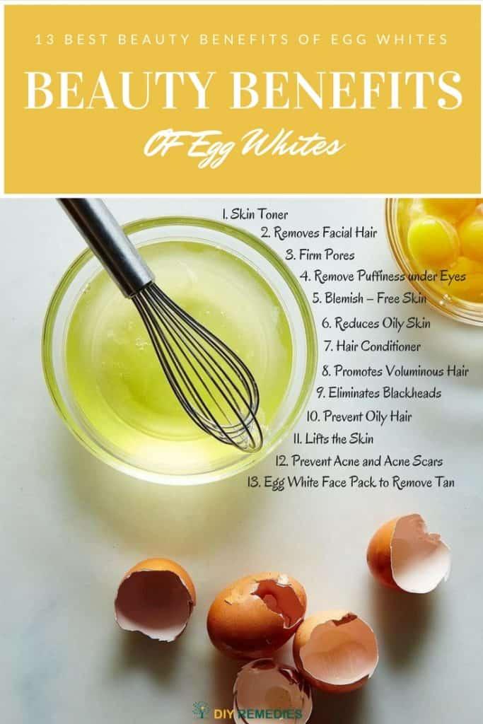Beauty Benefits of Egg White