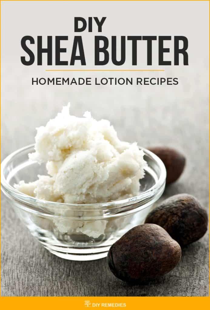 DIY Shea Butter Homemade Lotion Recipes