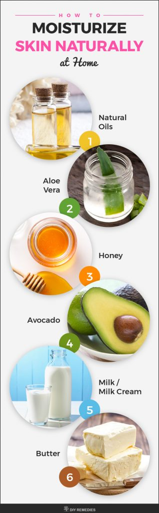 How to Moisturize Skin Naturally at Home
