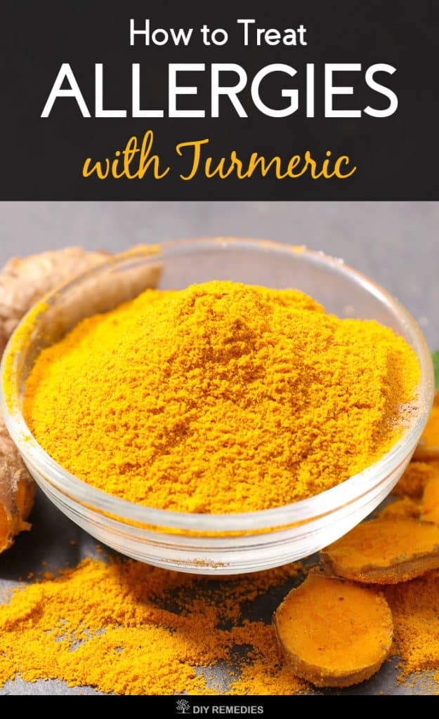 How to Treat Allergies with Turmeric