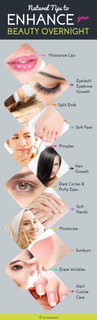 Overnight Beauty Tips