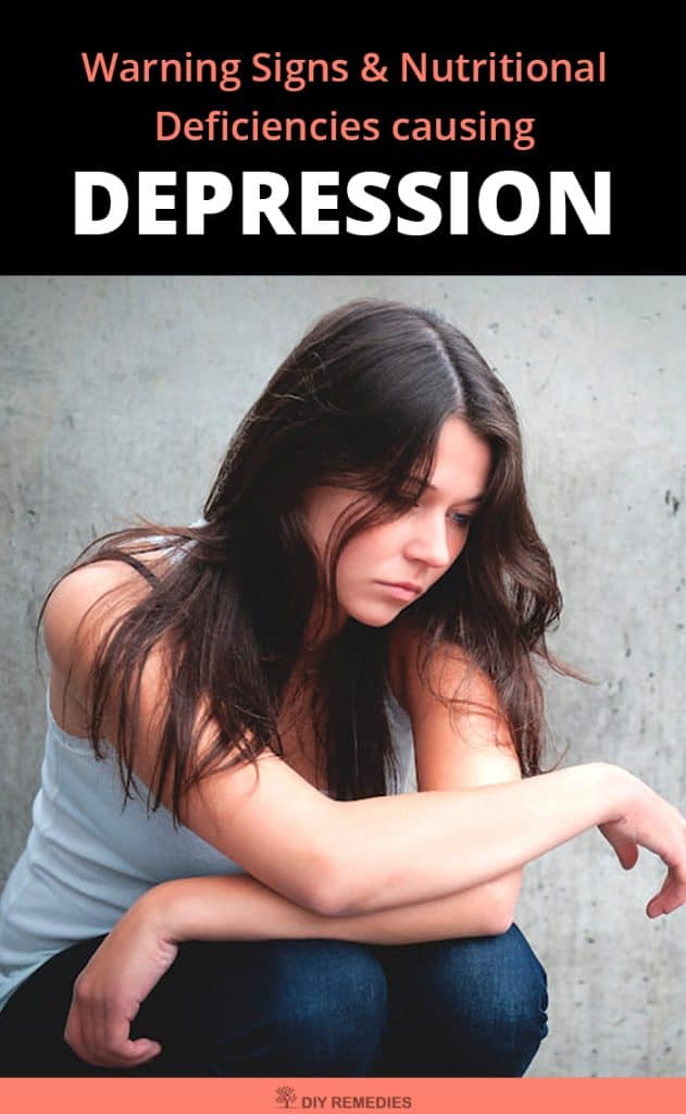 Warning Signs and Nutritional Deficiencies causing Depression