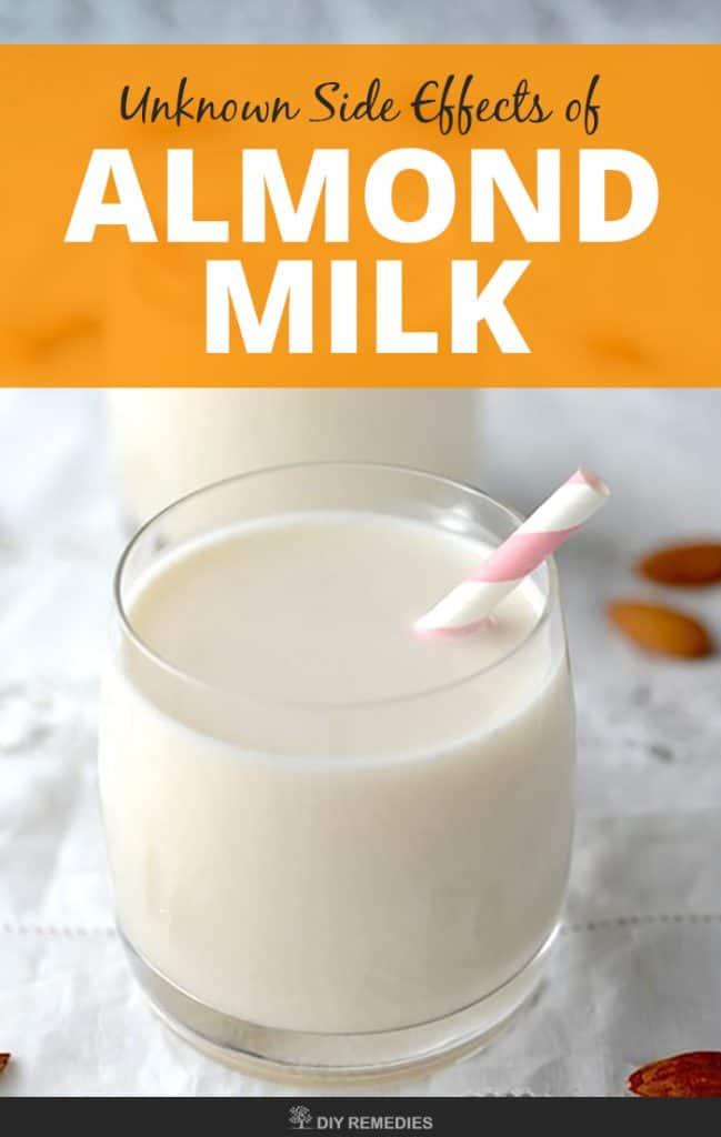 11 Unknown Side Effects of Almond Milk