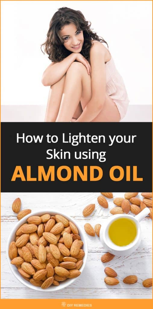 How to Lighten your Skin using Almond Oil