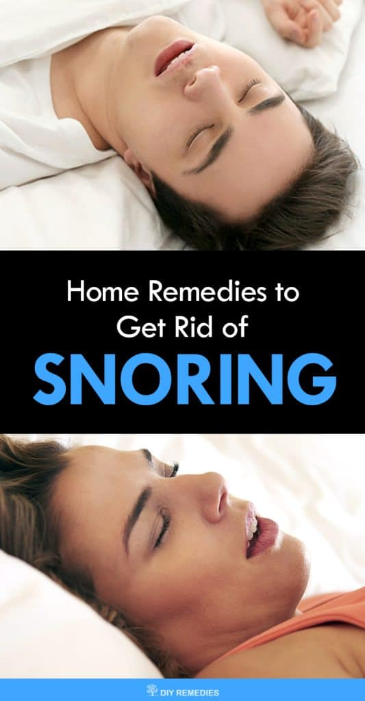 Home Remedies to Get Rid of Snoring