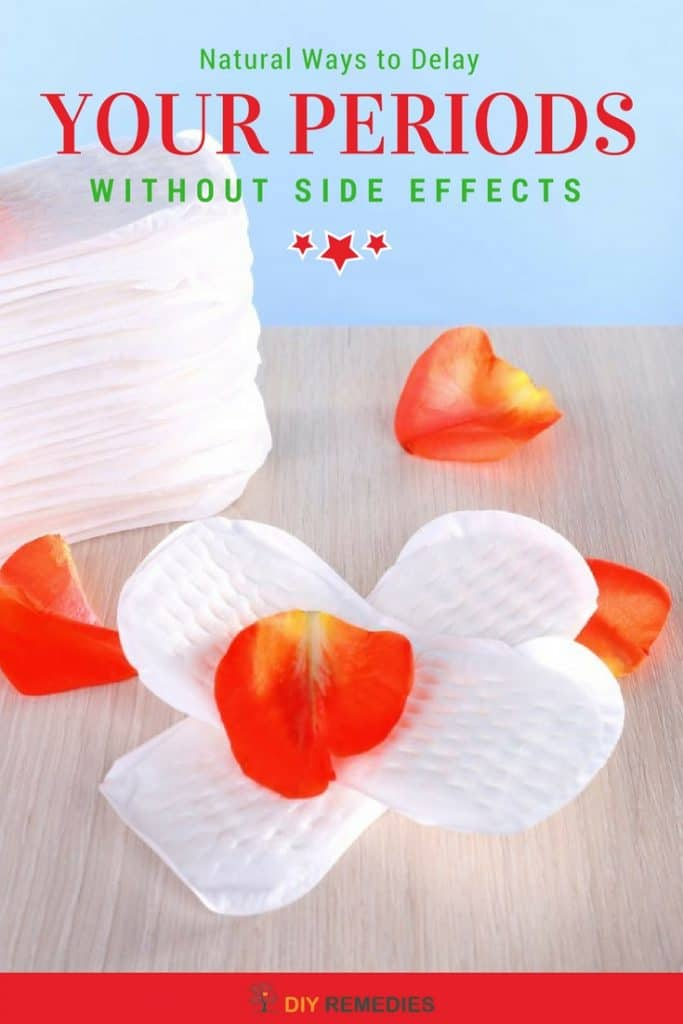 Natural Ways to Delay your Periods without Side Effects