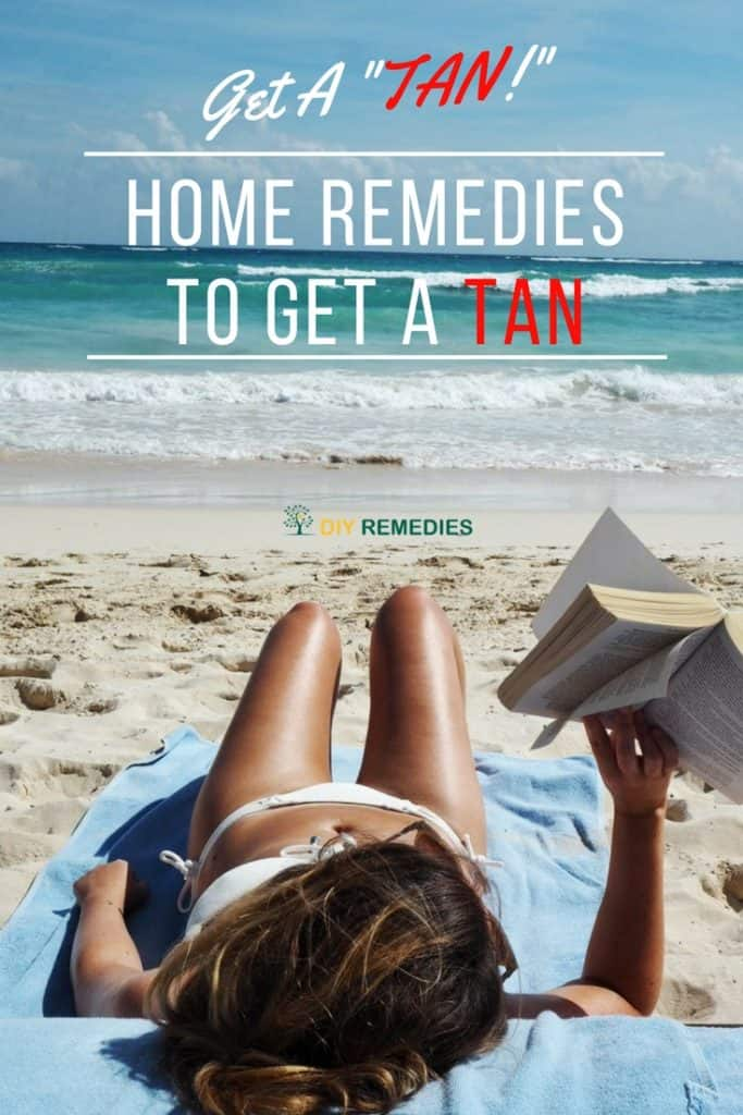 Home Remedies to Get A Tan