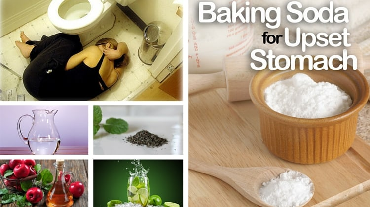How To Cure Upset Stomach With Baking Soda
