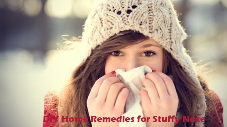 DIY Home Remedies for Stuffy Nose