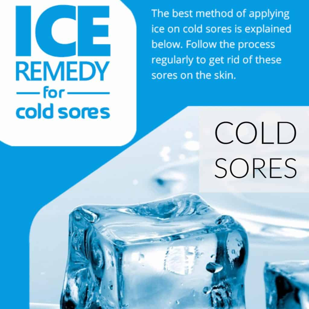DIY Ice Remedy for Cold Sores