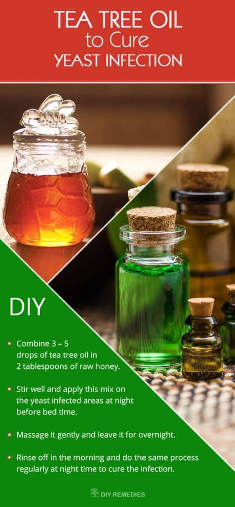 Tea Tree Oil To Cure Yeast Infection