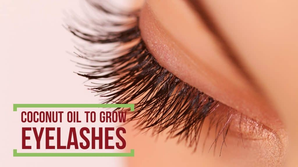 How Does Coconut Oil Work For Eyelashes