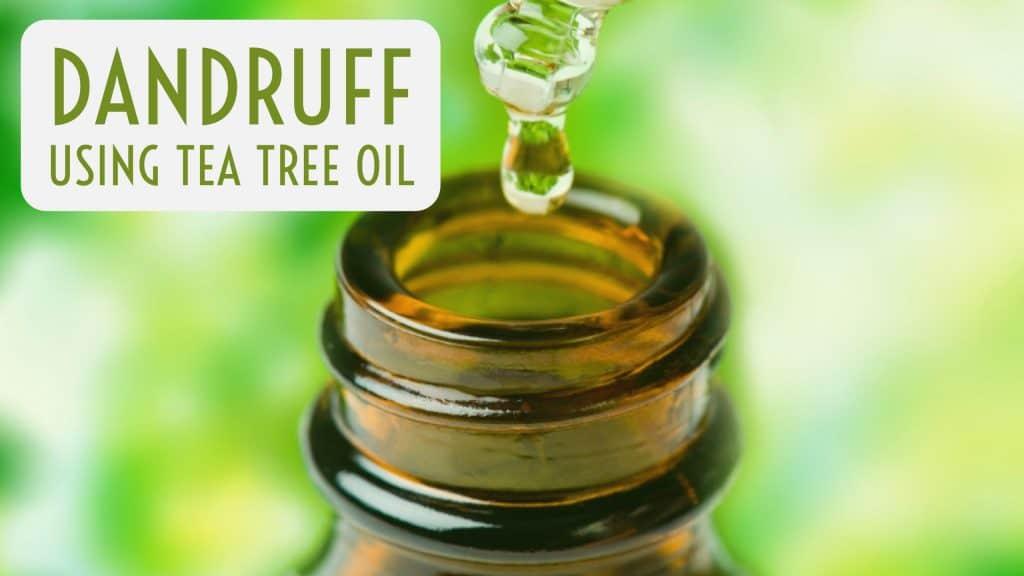 Dandruff WithTea Tree Oil