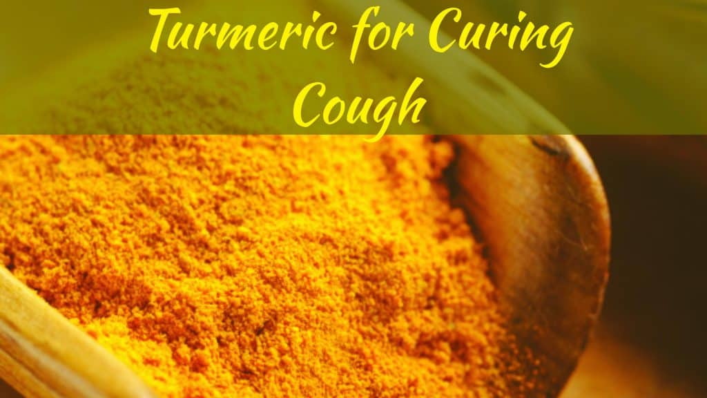 Turmeric for Curing-Cough
