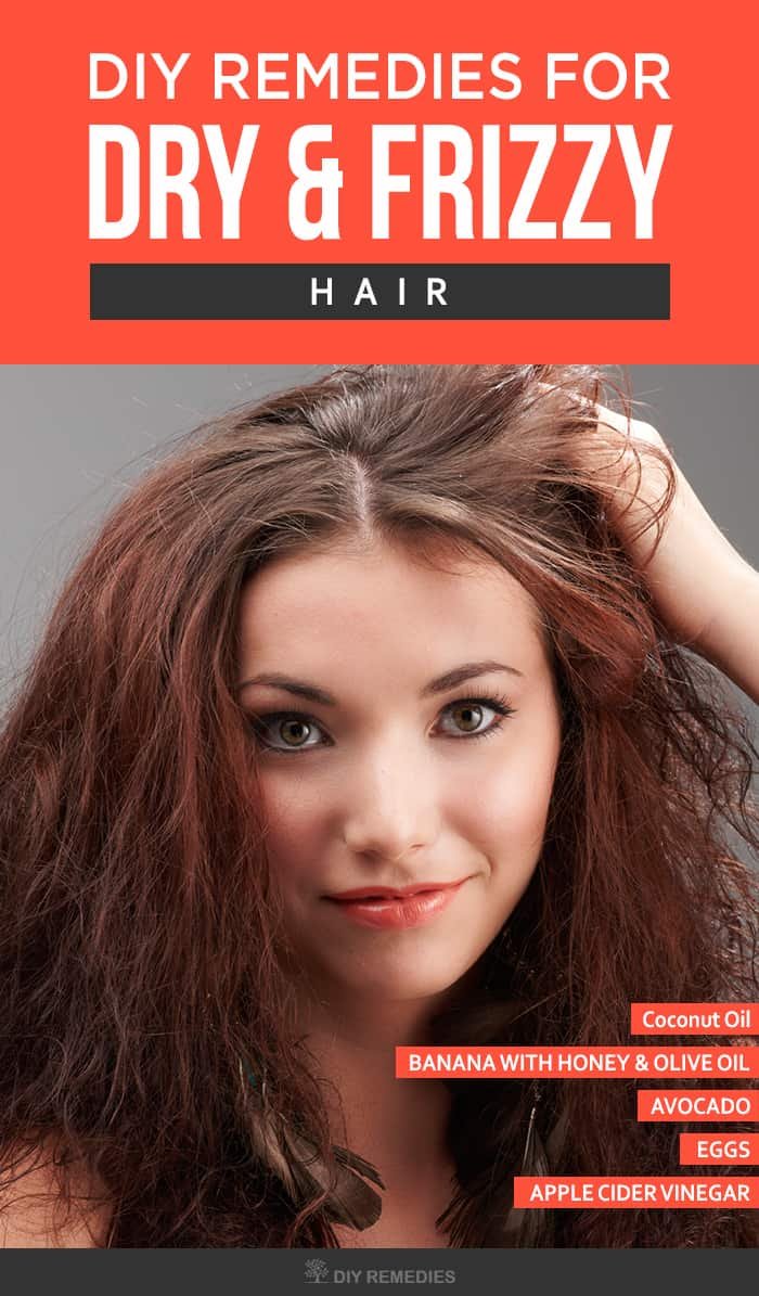 Natural Remedies For Dry Ends Of Hair