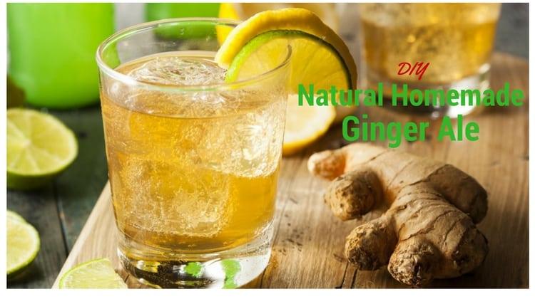 Health Benefits Of Natural Ginger Ale