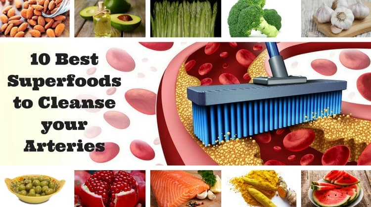 Artery Cleansing Superfoods
