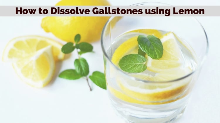 How Lemons are used for Removing Gallstones