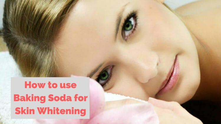 How to Whiten your Skin with Baking Soda
