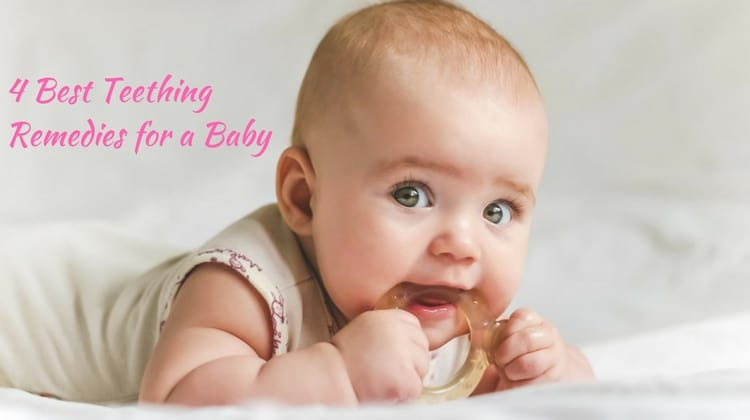 Home Remedies to Treat Teething Pain