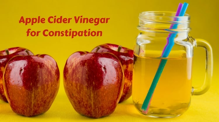 How to treat Constipation using Apple Cider Vinegar