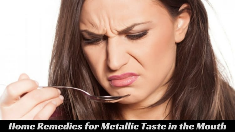Home Remedies to Deal with Metallic Taste in the Mouth