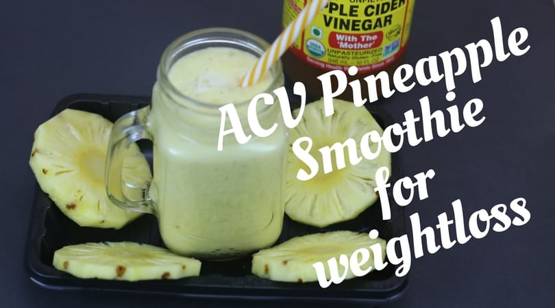 ACV Pineapple Smoothie