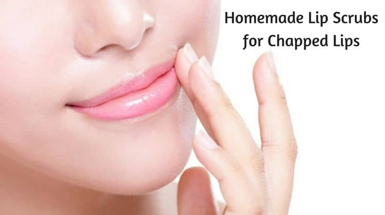 Homemade Lip Scrubs for Chapped Lips