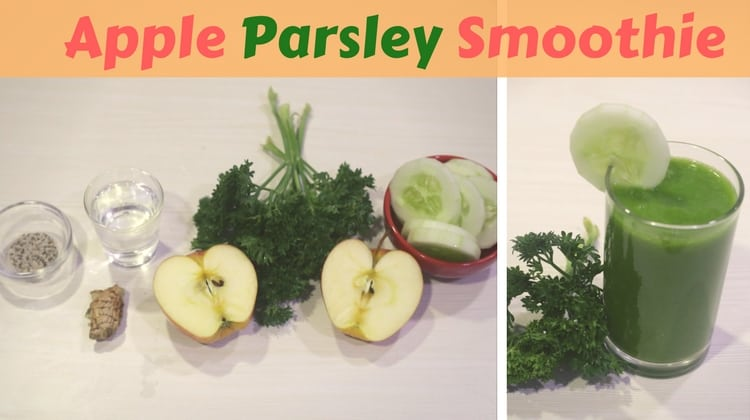 Apple Parsley Smoothie