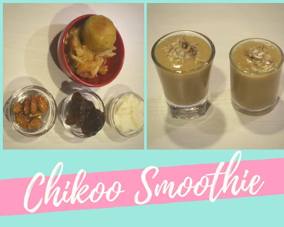 Chikoo Smoothie