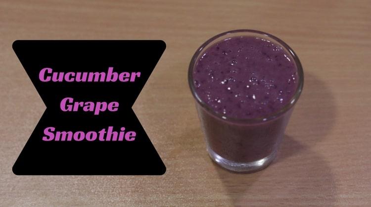Cucumber Grape Smoothie