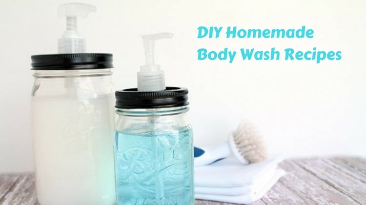 DIY Homemade Body Wash Recipes