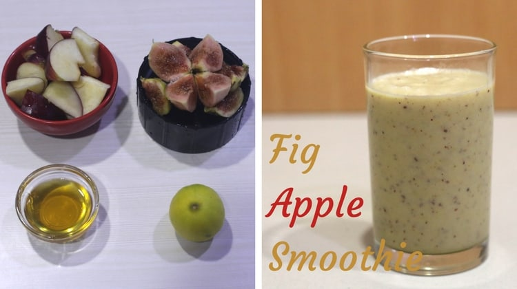 Fig Apple Smoothie
