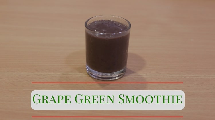 Grape Green Smoothie